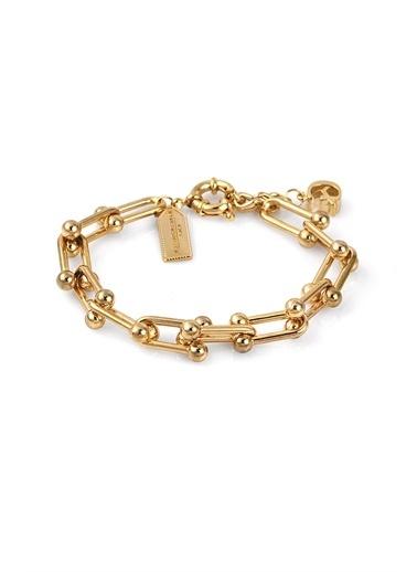 Alberto Guardiani Alberto Guardiani Ag10397Blk Jewelery Bileklik Altın